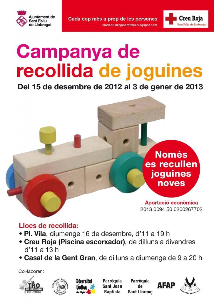 Campanya de recollida de joguines 2012