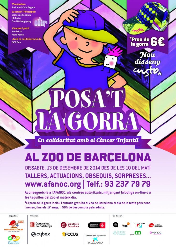 Cartell-2014bcn. Posa't la Gorra!